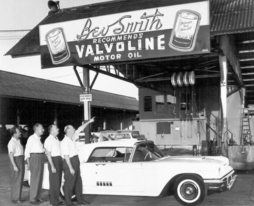 new service dept grand open - 1958